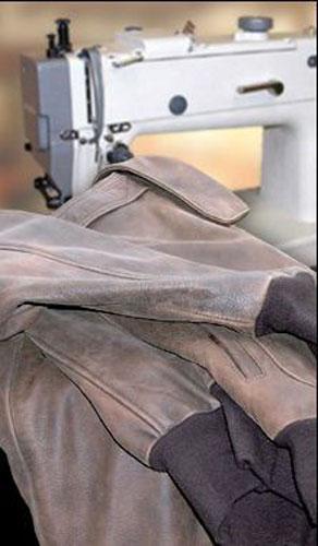 Bőrdzseki, bőrkabát javítás, alakítás, méretre igazítás
